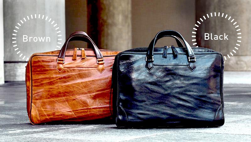 ビジネスや日常使いに提案する4WAYレザーバッグは2カラー
