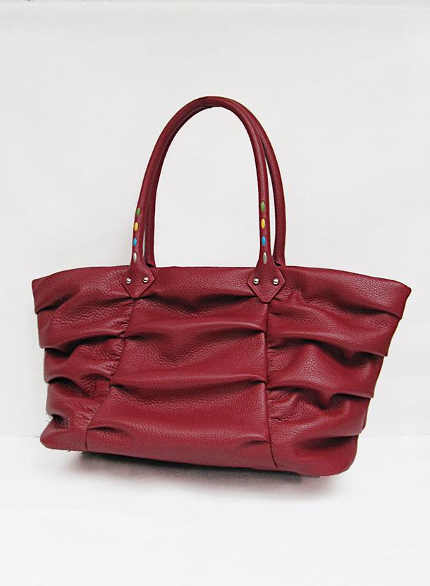 パープルクラウド 牛革 LE-3643-RED